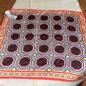 Old Navy NWT silk scarf in autumn color print